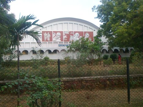 Srinivasam Hall where inuagural and cultural programmes were held