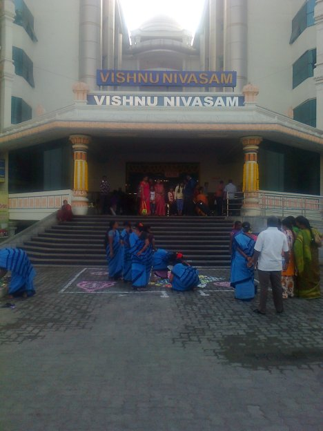 Vishnu Nivasam - the majestic, grand and God's gift, where the delegates were accommodated