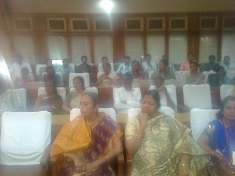 Another view of the audience attending the Valedictory function out of more than 600 registered delegates