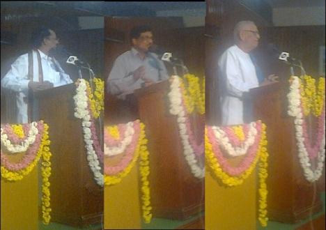Kiran Kranth Chaudary, Samudram Lakshmayya, Sathiyavelu Reddy addressing at the valedictory function