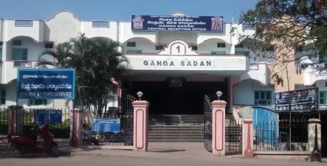 1. Ganga sadan where I stayed