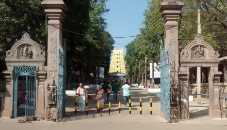 5. srisailam temple entrance