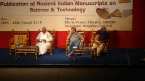 27-03-2019- Mss seminar -N. V. Prasada Rao, M. J. Nagarajan, H. S. Sudharshan